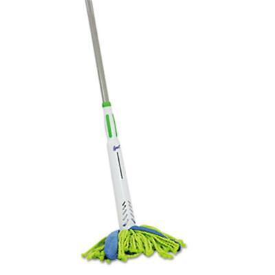 Quickie 59094M Lysol Cone Mop Supreme 8 in. Wide 31 .75 in. Steel Handle Gree...