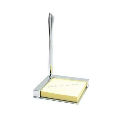 Aeropen International DT-59 Desk Top Memo Pad with Letter Opener and Pen in B...