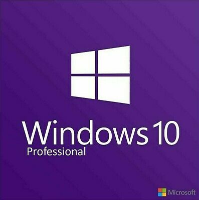 Windows 10 Professional Pro 32 & 64 Bit Activation Code License Key - Win 10 ...