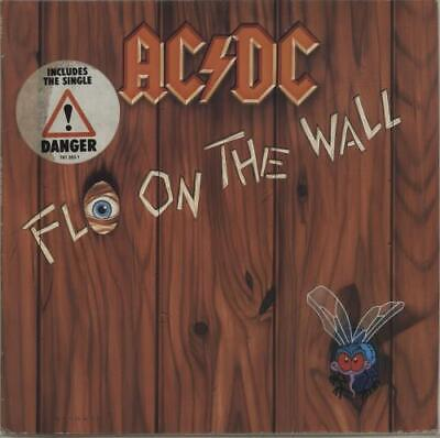 AC/DC Fly On The Wall - Hype Stickered vinyl LP album record German 781263-1
