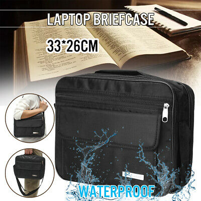 Black Bible Cover Zippered Protective Holy Book Tote Bag Religious Carry