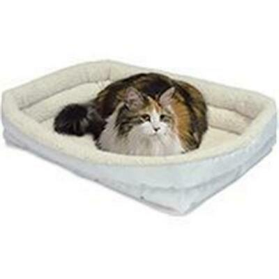 Midwest Container-Beds-Quiet Time Deluxe Double Bolster Bed- White 22x16 Inch...