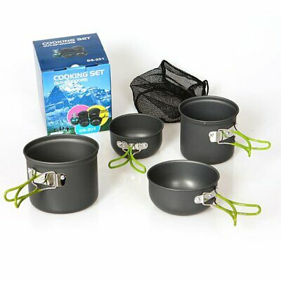DS-201 Cookware Compact Durable Outdoor Camping Hiking Backpacking Pot  VE