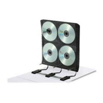 Ideastream Products IDEFT07016 Gapless Media Binder- for DVD-CDs- 34 Pages- H...