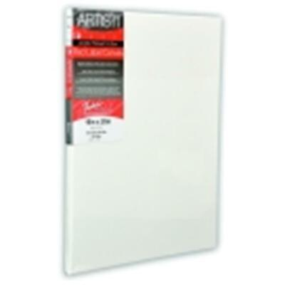 Fredrix Double-Primed Acid-Free Stretched Red Label Canvas - 24 x 30 in. - White