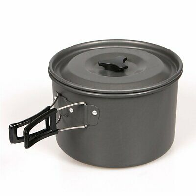 Camping Cookware Compact Durable Outdoor Camping Hiking Backpacking Big  ES