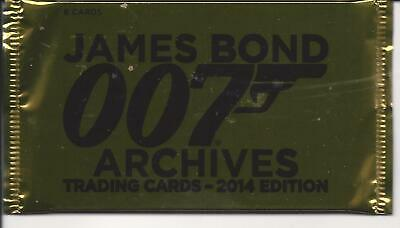 James bond archives '14 edition, trading cards  pack