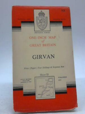 One Inch Map Great Britain Girvan Sheet 72 ( - 1955) (ID:37895)