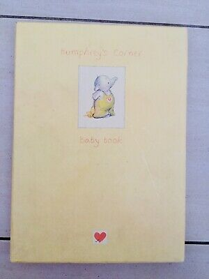 Humphreys Corner Keepsake Baby Memory Book