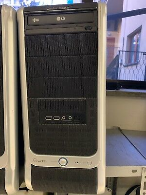 Pc desktop Elite 1 GB di ram HDD 250 Gb Dual-Core Win 7 Pro
