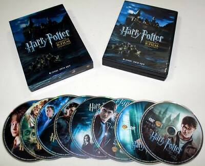 Harry Potter: 8-Film Collection (DVD, 2011, 8-Disc Set) NEW