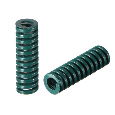 8x 25mm Long Spiral Stamping Heavy Load Compression Mould Die Spring Green 5pcs