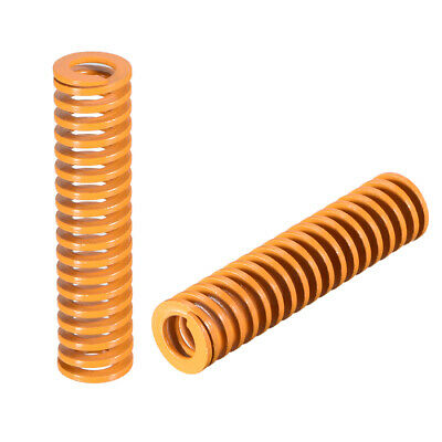 12mm OD 50mm Long Spiral Stamping Light Load Compression Mould Die Spring 10Pcs