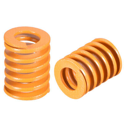 20mm OD 25mm Long Spiral Stamping Light Load Compression Mould Die Spring 5Pcs