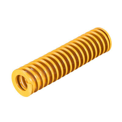 25mm OD 100mm Long Spiral Stamping Light Load Compression Mould Die Spring