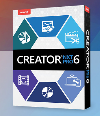 Roxio Creator NXT pro 6 Instant Delivery ✔️Lifetime License ✔️Trusted Seller✔️
