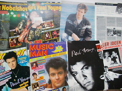 Paul Young Clippings Collection Germany Austria Netherlands 100+