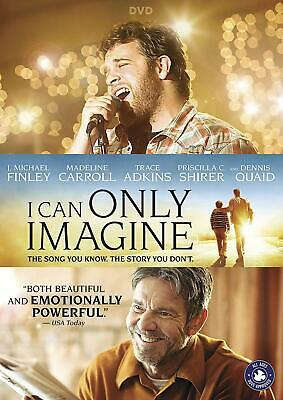 I can only imagine DVD. (Region 1). Free delivery.