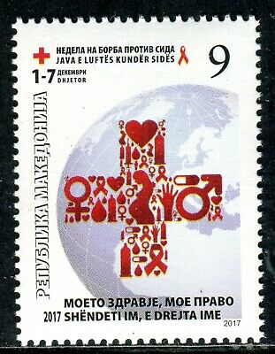 Organizations Macedonia 2000 Complete Year Red Cross Tuberculosis Cancer Aids Medicine Mnh