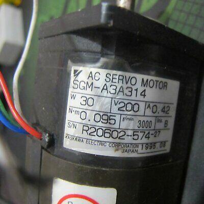 1PC Used Yaskawa SGM-A3A312 Servo Motor Tested In Good Condition
