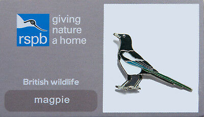 RSPB Pin Badge | Magpie | RSPB GNaH [00358]