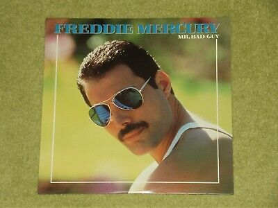 QUEEN / FREDDIE MERCURY Mr Bad Guy - RARE 1985 USA VINYL LP (Cat No. FC 40071)