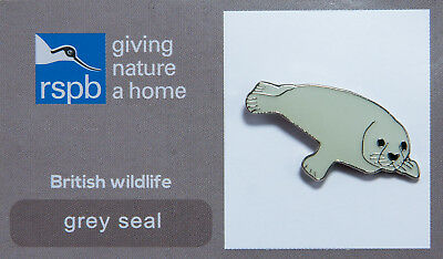 RSPB Pin Badge | Grey Seal GNaH [00254]