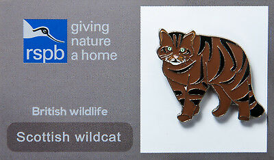 RSPB Pin Badge | Scottish Wildcat | GNaH [00509]