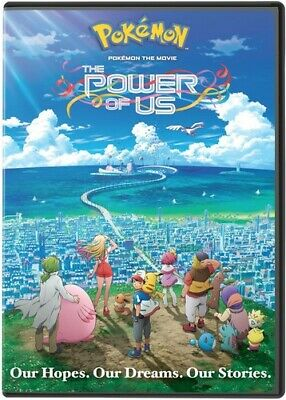 Pokemon The Movie: The Power of Us [New DVD] Black, 2 Pack