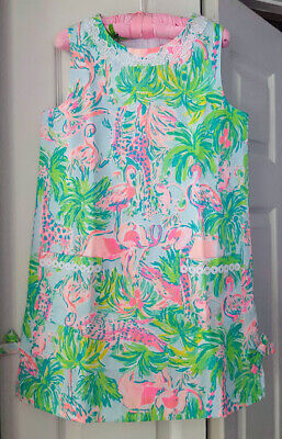 Lilly Pulitzer NWT Girls Little Lilly Classic Shift Multi Snap Back $58