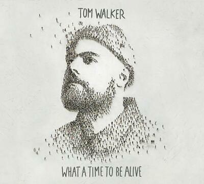 Tom Walker What A Time To Be Alive Import CD Album 13 tracks listened to once