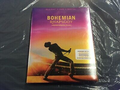 Bohemian Rhapsody  ( Blu-Ray + Dvd + Digital ) Brand New Sealed