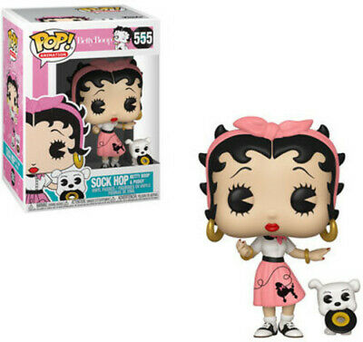 FUNKO POP! ANIMATION: Betty Boop - Sock Hop [New Toys] Vinyl Figure