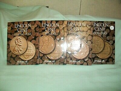 1909 Vdb - 2018-D Lincoln Cent Collection Wheat Penny Set