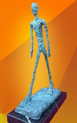 Bronze Statue Walking Man Contemporary Art Hot Cast Abstract Sculpture