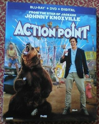 ACTION POINT in Blu-ray + DVD + Digital with JOHNNY KNOXVILLE in sleeve