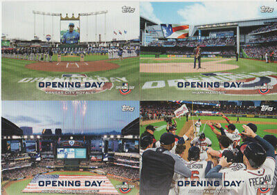 2019 Topps Opening Day Baseball Opening Day Ballparks Insert *pick Your Card*