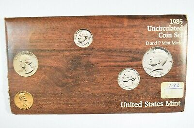 1985 United States Mint P&D Uncirculated Coin Set (b567.6)