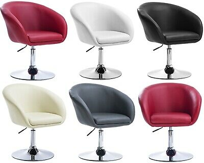 Swivel Retro Armchair Vintage TUB Seat Lounge Dining Chair Living Meeting Room