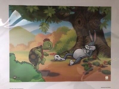 Genuine Warner Brothers Bugs Bunny Limited Edition Giclee