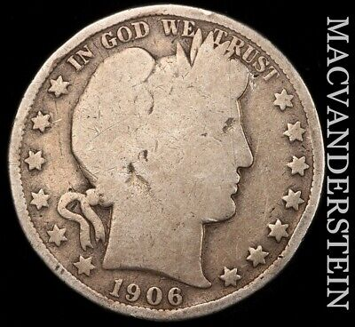 1906-O Barber Half Dollar - Scarce!!  Better Date!!  #e48