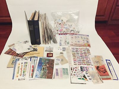 USPS Mint NH Postage Stamp Plate Block Large Lot Collection Face Value $680+