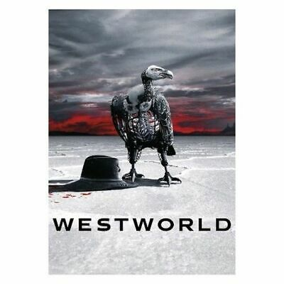 Westworld: The Second Season 2 Two DVD, 2018, 3-Disc Set New & Sealed Free Ship