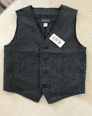 NWT The Childrens Place Boys Handsome Vest 5-6 years