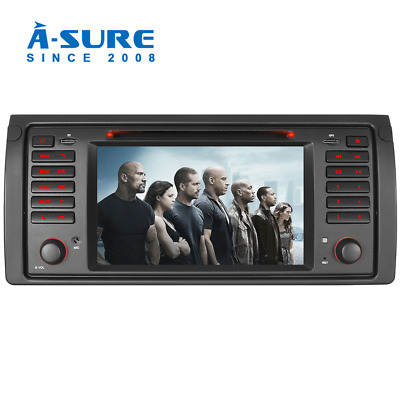 Autoradio Für BMW E39 5er X5 DVD GPS Navi Navigation CD RDS DAB Mirrorlink BT