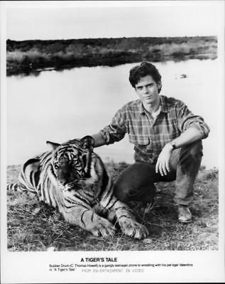 A scene from the film A Tiger's Tale. - Vintage photo