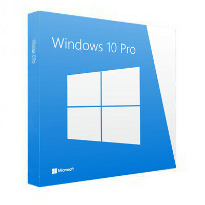 WINDOWS 10 PRO 32/64 BIT instant Genuine originale di licenza
