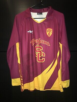USC TROJANS Cricket Club, Team Issued Long Sleeve Jersey, Large L