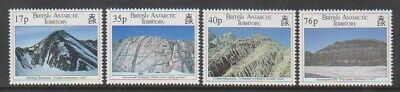 British Antarctic (BAT) - 1995, Geological Structures set - MNH - SG 256/9