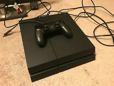 SONY PlayStation 4 PS4 Console 500GB Black Controller Included